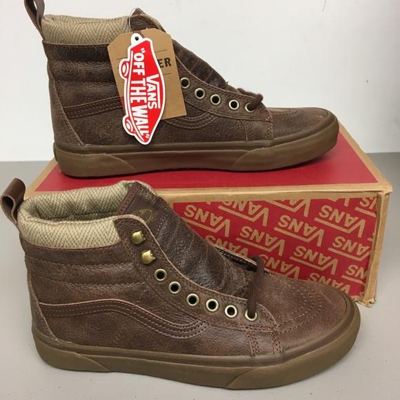 909a4b229a Vans sk8-hi mte brown mid rise boot M7